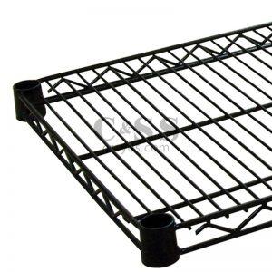 Black Wire Extra Shelf 12