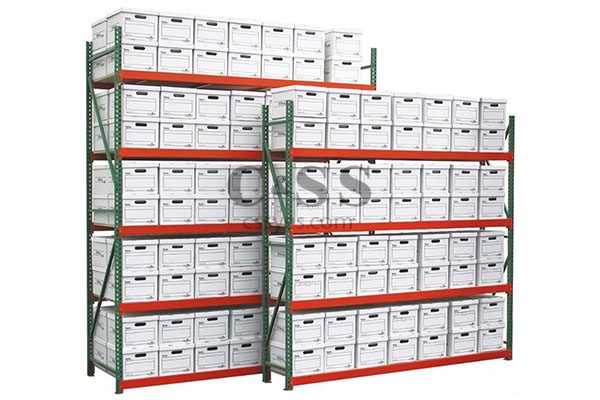 FastRak Records Archive Storage Rack 6