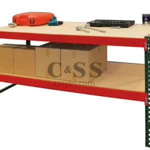 Rack Workbench with Bottom Shelf 6