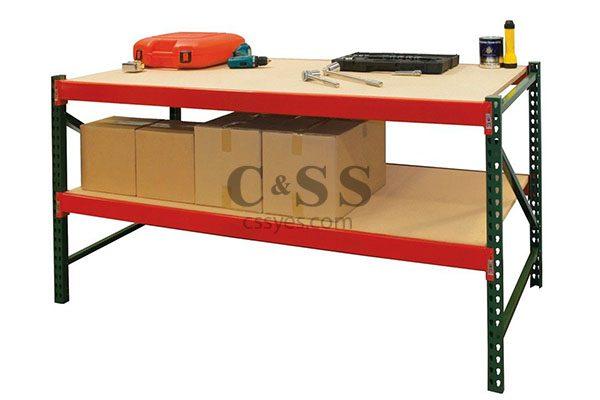 Rack Workbench with Bottom Shelf 6