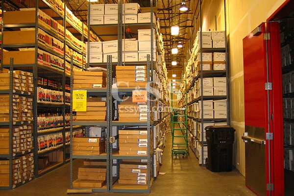 Records Storage Shelving Aisles 6L