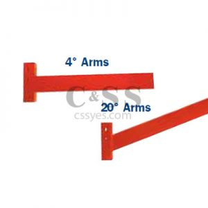 Medium Duty Cantilever Rack Arms 6