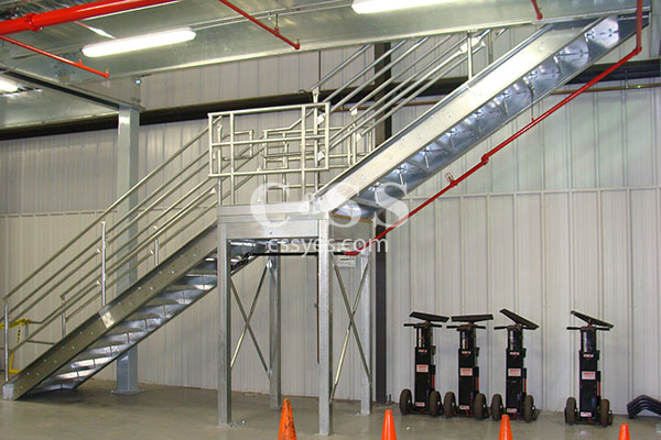 Mezzanine Stairs Industrial Mezzanines And Structures C Ss