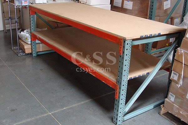 Pallet Rack Workbench 6
