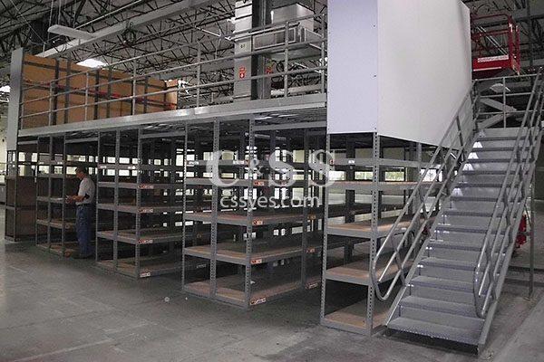 Shelf Supported Mezzanine 6