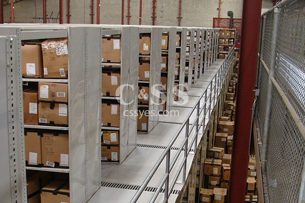 Shelving Catwalk Distribution Center 6