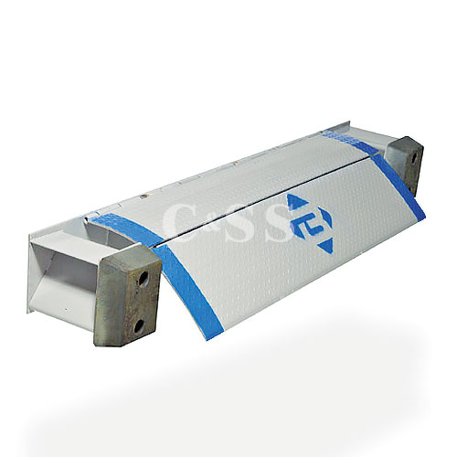 Bluff Manufacturing Bluff EZ-Pull Refrigerated Truck Edge of Dock Leveler 20EP72-R 72W 20,000 Lb.