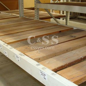 Pallet Rack Wood Decking 6