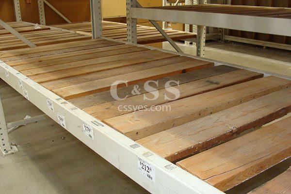 Pallet Rack Wood Decking 6