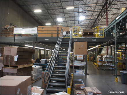Warehouse Storage Area