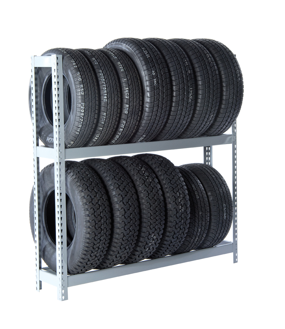 RiveTier 2 Tire Rack