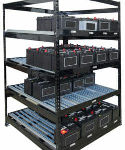 RiveTier battery rack