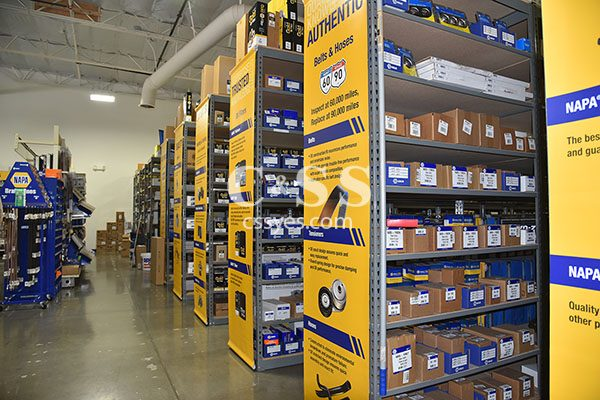 NAPA Auto Parts Shelving 6