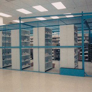DEA Controlled Substance Drug Storage Cage