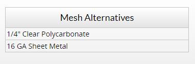 Metal Alt Chart