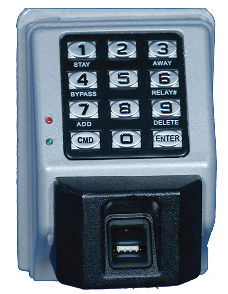 WireCrafters Biometric Finger Reader lock with keypad big