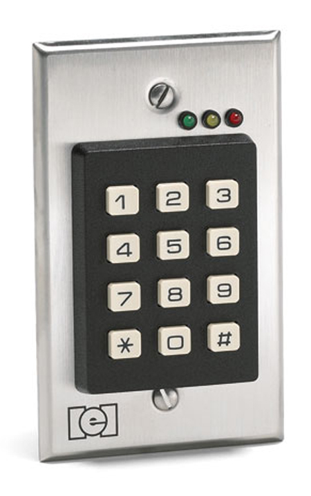 WireCrafters ten digit key pad lock big