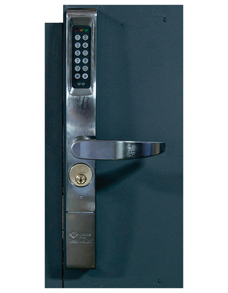 eForce keyless entry lock with ten digit keypad big