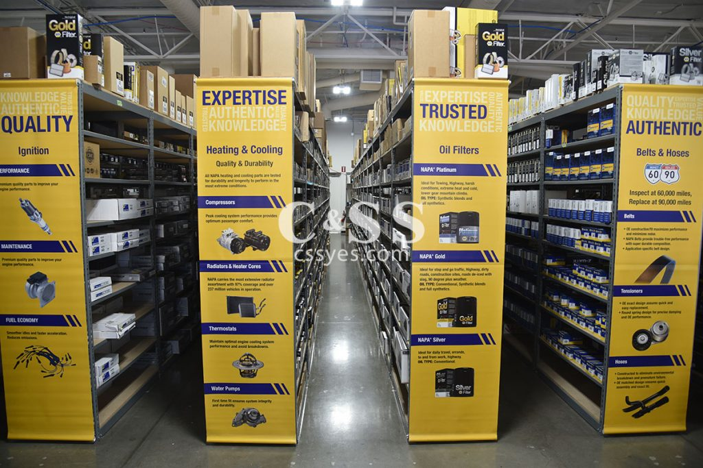 Auto Parts Storage Shelving 12