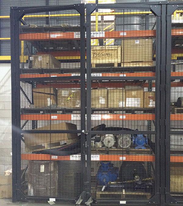 Double Hinged Rack Doors