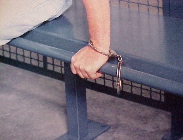 WireCrafters Handcuff Bench with Cuff Rail