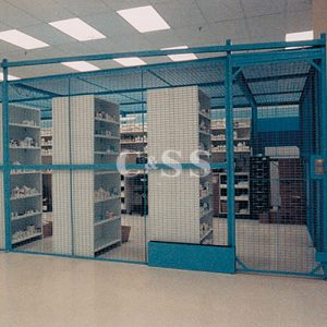 Wirecrafters DEA Controlled Substance Drug Storage Cages