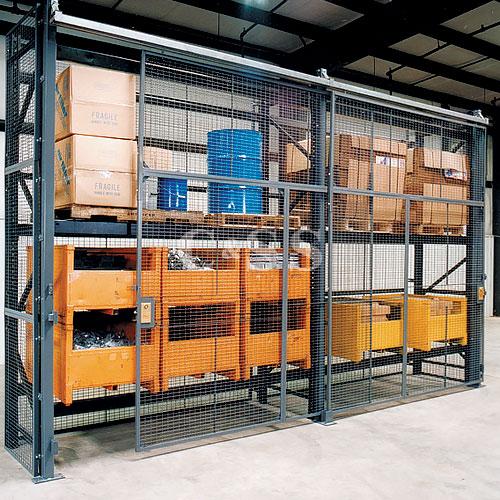 Wirecrafters Pallet Rack Enclosures