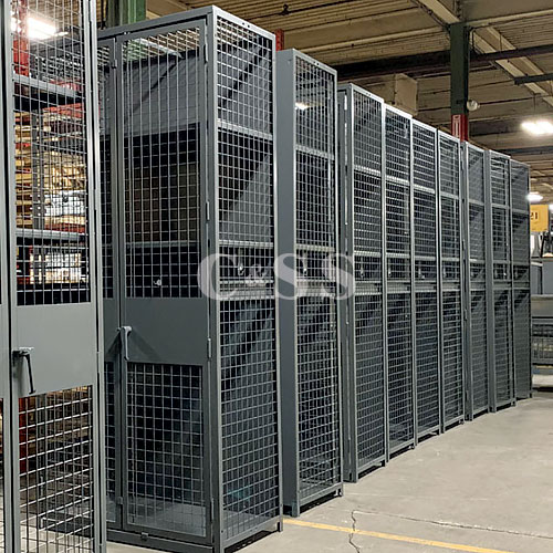 Wirecrafters TA 50-Military Storage Lockers