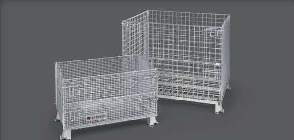 WorldTrainer Collapsible Wire Baskets