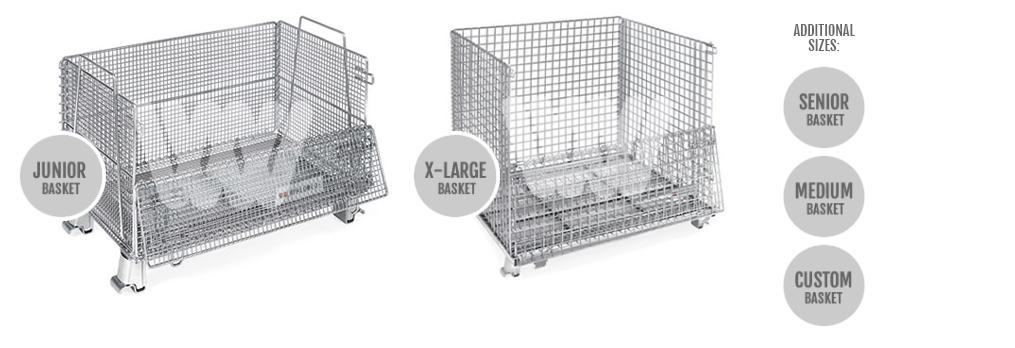 WorldTrainer Wire Baskets