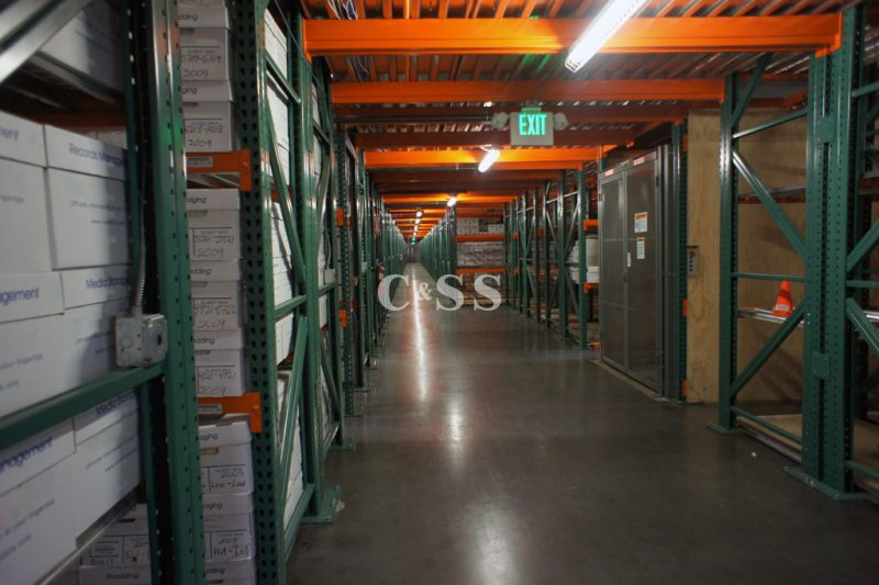Case Studies High Density Storage System For Growing Records Management Company