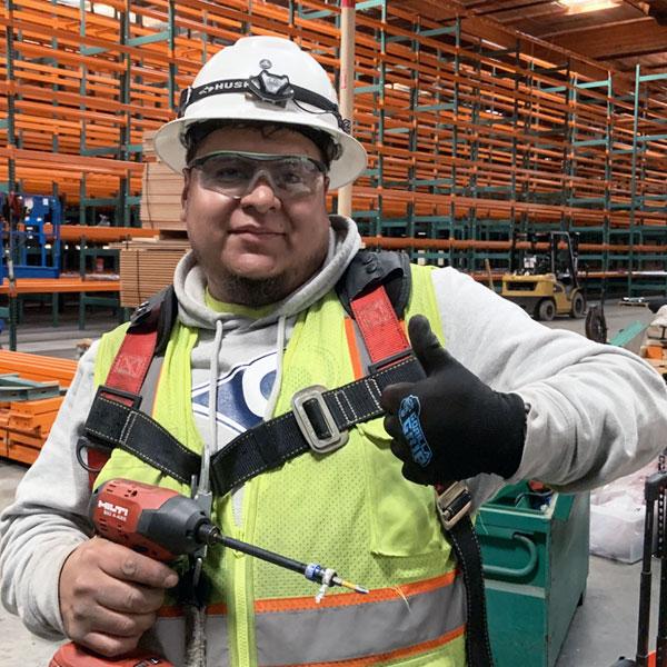 Pallet Storage Rack Installer Maurilio Ledesma