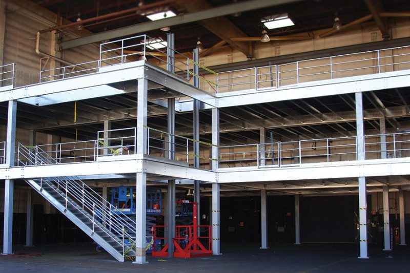 Mezzanine Expansion Material Lifts