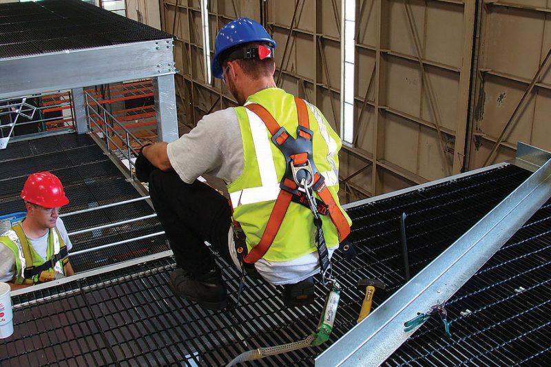Pallet Rack Storage Mezzanine Installation