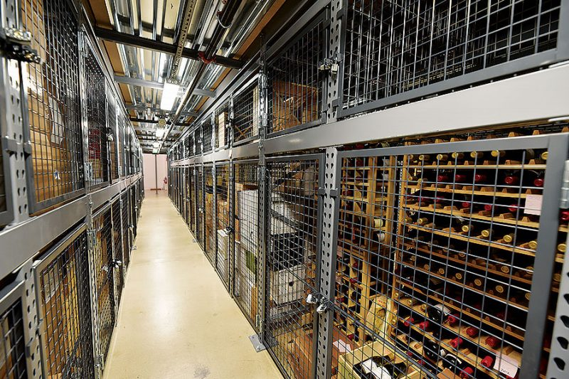 Warehouse Controls Climate and Secures Wine