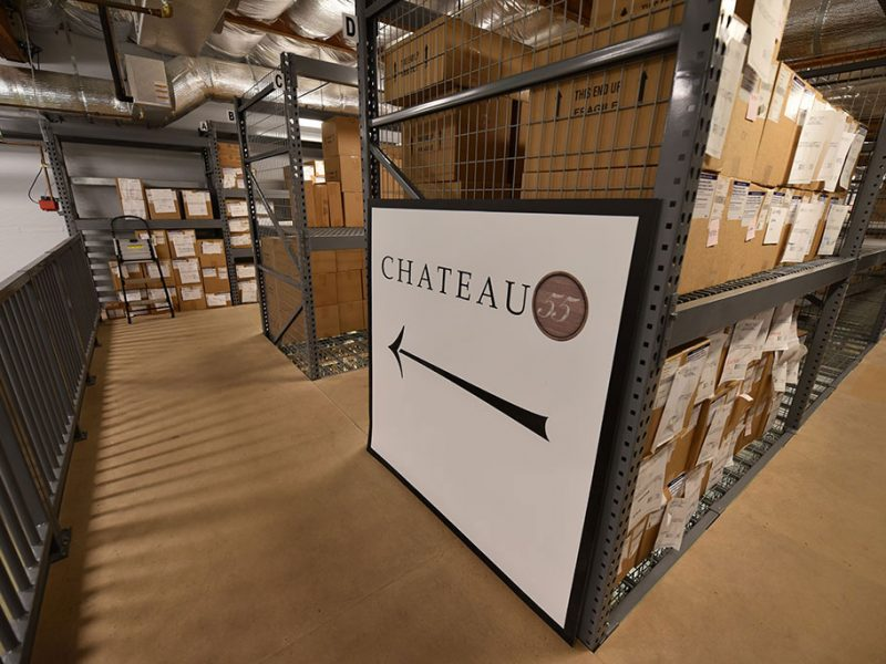 Chateau 55 Warehouse Controls Climate And Secures Wine Video
