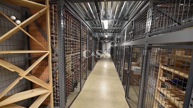 Custom Rack Design To Maximize San Diego Wine Company Storage Capacity