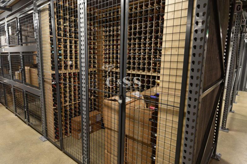 Southern California Wine Business Warehouse With Secured Wine Storage Lockers