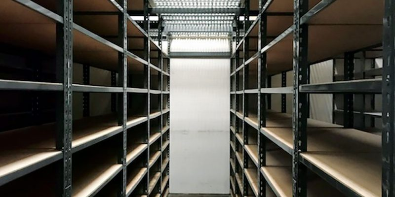 Catwalk Storage For Auto Parts Distributor