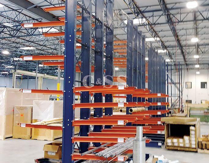 Custom Pallet Rack Design For Oceanside Door Manufacturer