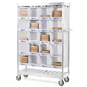 Picking Cart For Single Sided Or Back To Back Record Storage