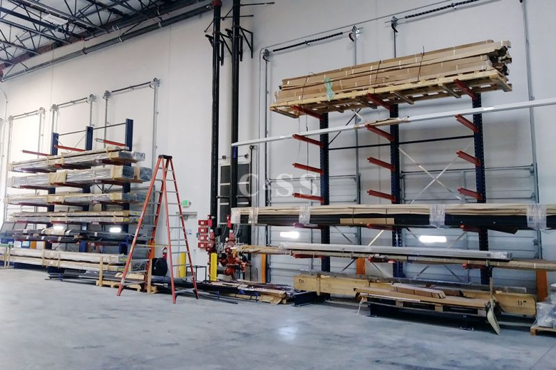 Raw Material Storage Warehouse Design And Build