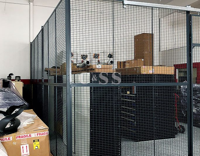 Wire Cages For Family Owned Car Dealership