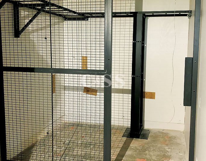 Wire Security Cage For Wells Fargo Server Room