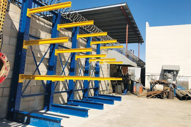 Cantilever Rack For Welding Storage Company