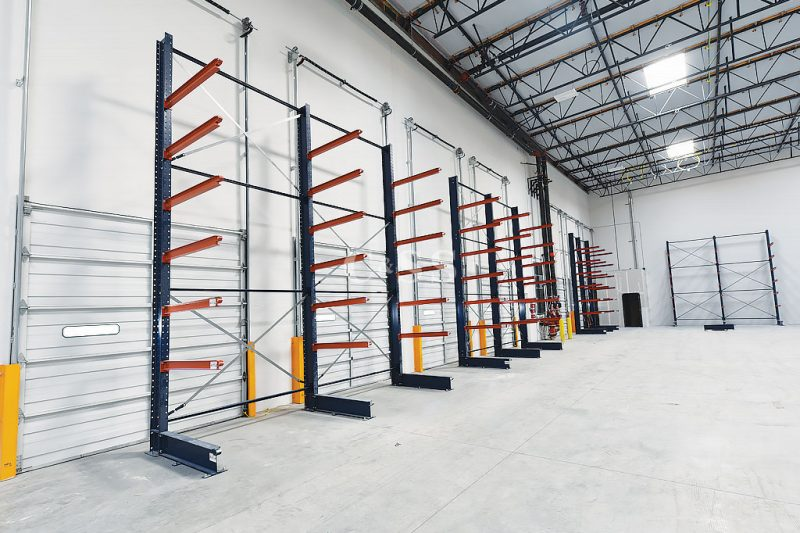 Cantilever Racks For Lumber Or Pipe Storage