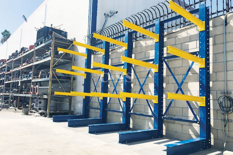 Design And Installation Of Structural Cantilever Rack Storage