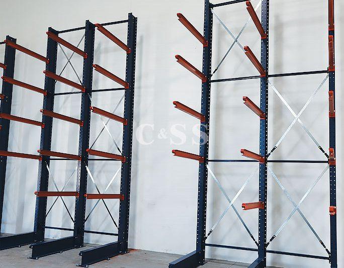 Door And Pallet Rack Layout For Door Company Materials