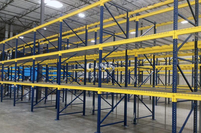 High Bay Pallet Racks For Solar Panel Business