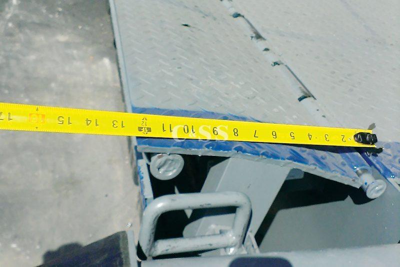 Measurements For Dock Leveler Forklift Access